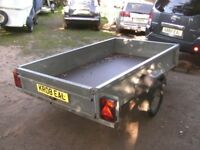 FULLY GALVANISED 7FT X 4FT GOODS TRAILER 750KG UNBRAKED.........