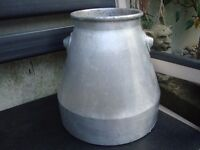 Vintage small Milk churn(Aluminium)