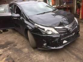 Toyota avensis breaking 2013 facelift