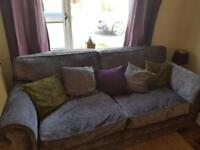 Solid 3 Seater Sofa & Chair by Steeds Upholstery