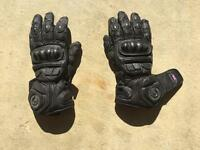 Belstaff motorcycle gloves medium