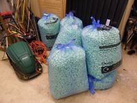 5 X Large Bags of Packing Foam Peanuts, Mailing, Postal, Boxes, Tape, House Moving Boxes, Paper