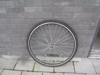 700C hybrid city bicycle front wheel