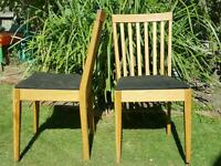Six dining chairs - IKEA Egon - prefect upcycling project