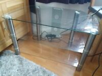 Lovely tv unit, clean & modern GREAT VALUE!