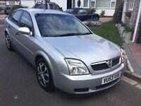 Vauxhall vectra 2.0 dti turbo diesel 2003 facelift model 5 door hatch mot September 26