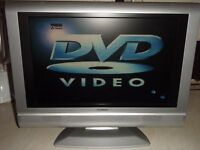 lcd tv built in dvd player