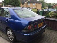 Lexus IS200 SE Sport 02 Plate Triptronic Gearbox Metallic Blue