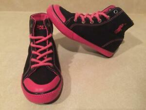 Toddler Size 13 Polo High Top Shoes