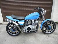 Yamaha XS750 UNIQUE SINGLE SEAT PROJECT BIKE - 1982 - 36,000 miles