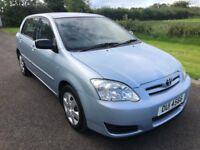 2005 Toyota CorollaT2 1.4VVTI 5dr FSH 1yrs Mot 6mth warranty