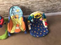 Baby chairs/ play mat