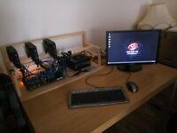 Mining Rig Prebuilt 3 GPU RX 560