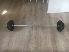 Weighted Barbell Set