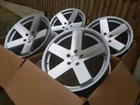 """Brand new 18"""" WC8 alloy wheels 5x112 audi vw merc"""