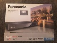 Panasonic Blu-ray Player with selection of 22 blu-ray movies