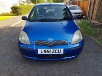 2002 Toyota Yaris 1.3 VVT-i 16v GLS 3dr Automatic @07445775115 1+Owner+Auto+Low+Insurance+HPI