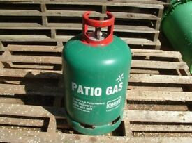 Calor Gas 'Empty' 'Patio Gas' 10kg Propane BBQ gas bottle, can be delivered