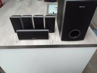 Sony Home Theatre Speakers with Sub