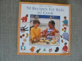 step by step 50 recipes for kids to cook book