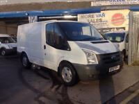 2007 ford transit t260 swb van 2.2 tdci 133k roof rack 12 months mot px welcome & delivery available