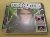 BASSHUNTER - NOW YOURE GONE THE ALBUM – CD - Collectors Edition
