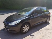 2007 PEUGEOT 307 1.4 PERFECT SMALL FAMILY CAR MOT UNTIL MAY 2018 CHEAP ON FUEL TAX AND INSURANCE