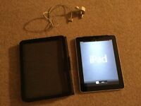 i pad 1 3 g with wifi. With case good condition