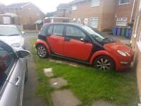 Smart ForFour 1.1 62,000, needs tidying