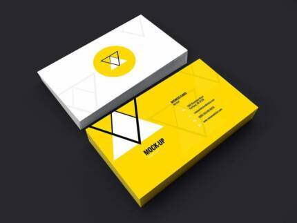Business card design printing stickers invoices graphic web 180 business card design print package reheart Images