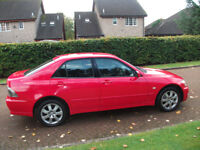 lexus is 200 s 1998cc mot till september 18 £550