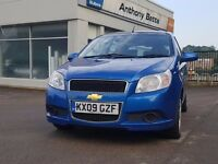 Chevrolet Aveo 2009 Reg,3 Months Warranty, AA Mechanical Report, Full History,Hpi Clear, 2195 Ono