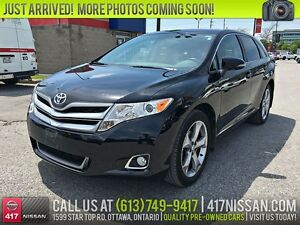 2013 Toyota Venza | Leather, Panoramic Sunroof, Rear Camera