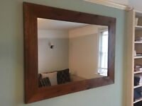 Great quality wooden mirror