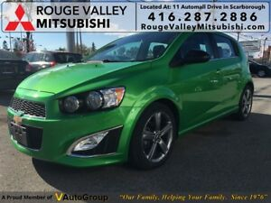 2015 Chevrolet Sonic RS TURBO, NO ACCIDENTS, BODY IN GREAT SHAPE
