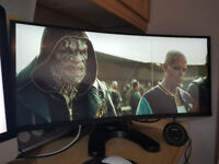 HP Z38c Curved 4K Ultra-Wide Monitor (New RRP £1400)