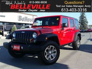 2015 Jeep WRANGLER UNLIMITED Rubicon-Navigation-Bluetooth