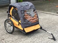 Double bike buggie excellent condition