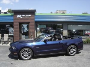 2012 Ford Mustang GT 6 VITESSES  UNE TAXE