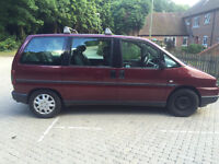 FAIT MPV SPARES OR REPAIRS MOT TILL MAY 2017,