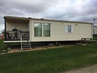 Caravan to rent at Allhallows Haven resort. Long term and short term holiday