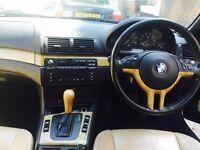 BMW 320 CI convertible 2.2 petrol automatic