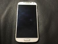 Samsung Galaxy S4 white 16gb Unlocked