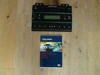 Land Rover Freelander 1 FaceLift Radio / 6 Disc Cd Player C/W Code & Instruction Book