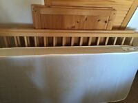 Used Ikea baby cot bed