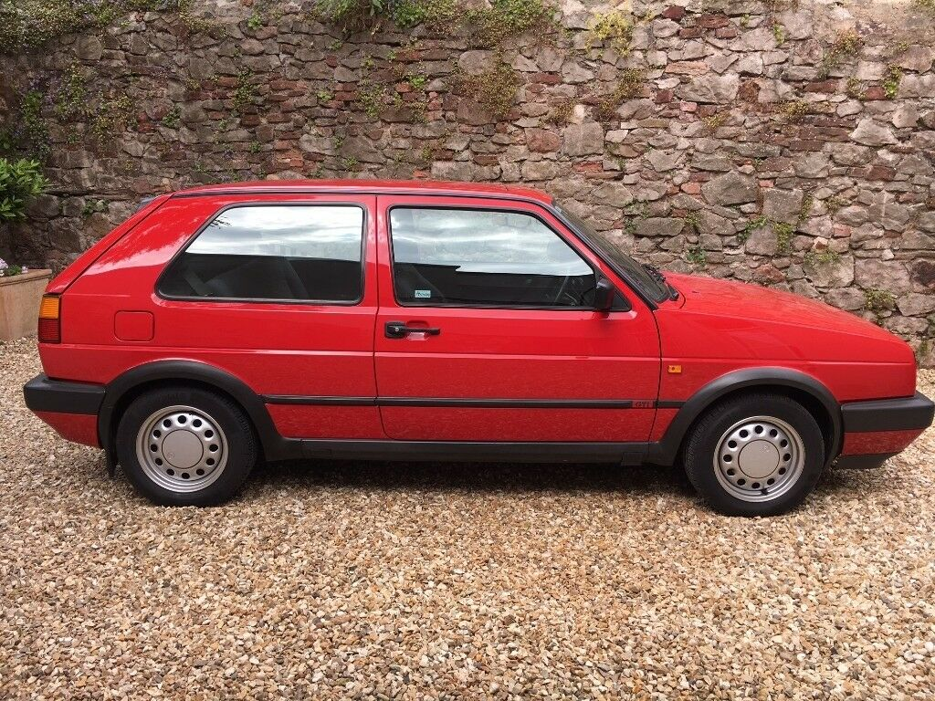 VOLKSWAGEN GOLF GTI Mk2 8V. All original and in exceptional condition