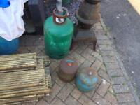 Gas bottles free