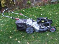 wolf petrol lawn mower