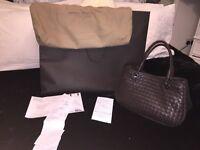 brown leather Bottega Veneta bag handbag BOT ( Gucci, Prada, moncler, Louis Vuitton, Nike )