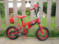 Disney Cars Lightning McQueen bike